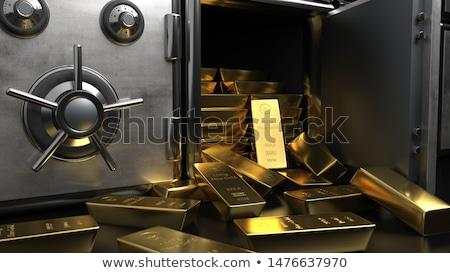 Rezerwa złota federalny streszczenie metal finansów Zdjęcia stock © SVitekD