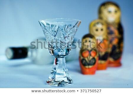 Wodka frame illustratie Kremlin koepel Stockfoto © dayzeren