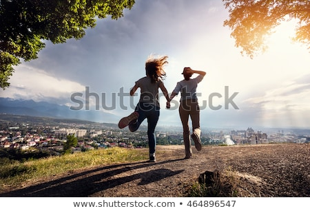 Stock photo: Escape From City