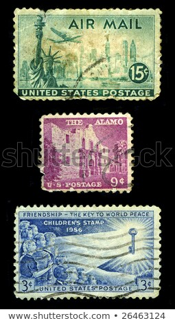 heroes USA postage stamp stock photo © Snapshot