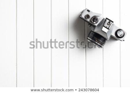 vintage · câmera · de · filme · isolado · branco · abstrato - foto stock © vlad_star