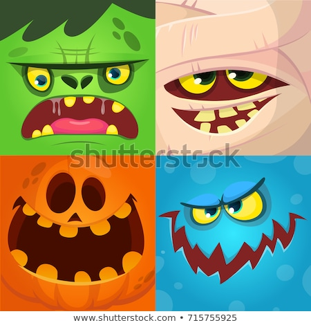 Angry Halloween Dracula Stock photo © zooco
