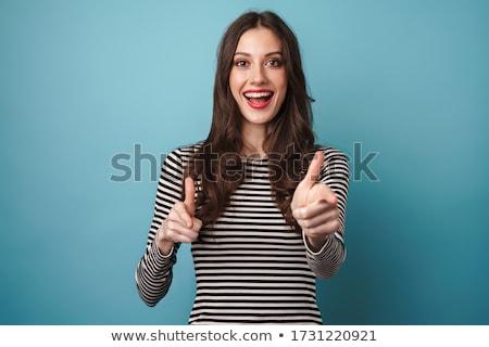 alluring young woman posing stock photo © pawelsierakowski
