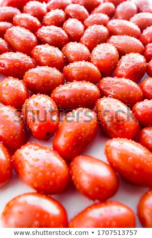 Pomidorów diety kobieta kuchnia tablicy owoców Zdjęcia stock © iko