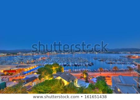 марина · порта · синий · лодках · лет · день - Сток-фото © lunamarina