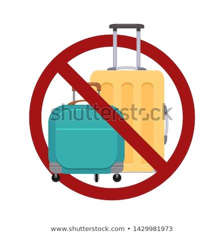Não viajar menino sessão céu natureza Foto stock © silent47