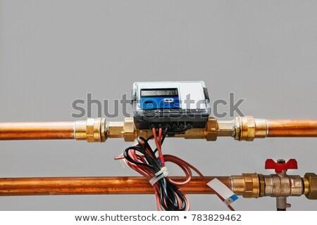 Enerji ısı teknoloji Metal sanayi Stok fotoğraf © simpson33