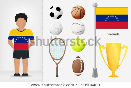 Venezuelan Volleyball Team stock photo © bosphorus