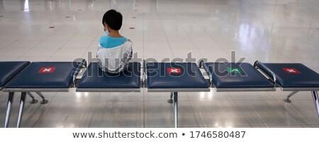 ragazzo · partenza · sala · nuovo · aeroporto · Bangkok - foto d'archivio © meinzahn