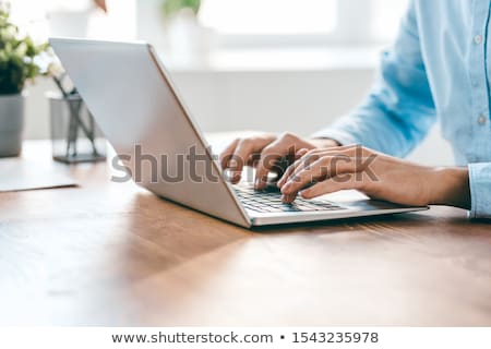 typing hands stock photo © w20er
