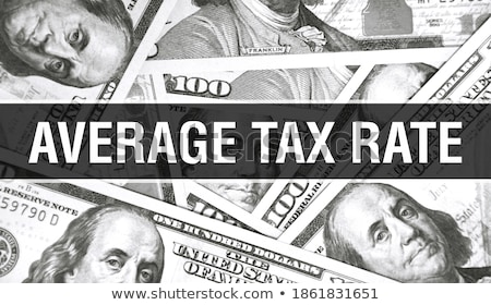 average exchange rate of dollar Stock photo © tintin75