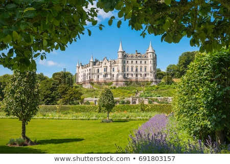 Dunrobin Castle, Highlands, Scotland Stock photo © phbcz