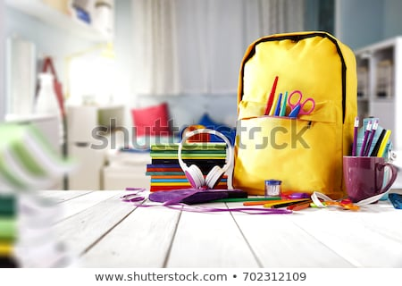 back to school supplies stock photo © tagore75