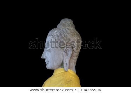 zijaanzicht · haren · hoofd · godsdienst - stockfoto © jackethead