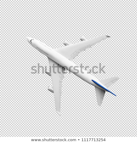 view from airplane stock photo © jonnysek