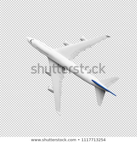 view from airplane  Stock photo © jonnysek