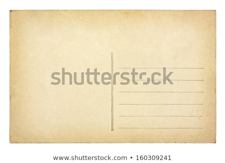 Backside of vintage postcard Stock photo © andromeda