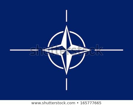 Zászló szín izolált világ biztonság felirat Stock fotó © mayboro