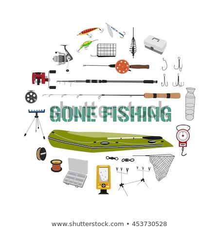 釣り · ギア · フック · ビジネス · スポーツ · 金属 - ストックフォト © slobelix
