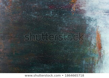 Detail of a canvas with acrylic paint and sand Stock photo © Zerbor