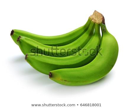 Verde bananas grande monte árvore grupo Foto stock © kimmit