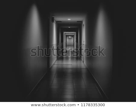 abandoned hotel hallway Stock photo © unkreatives