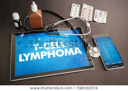 sejt · immúnis · irányítás · rák · onkológia · gyógyszer - stock fotó © tashatuvango