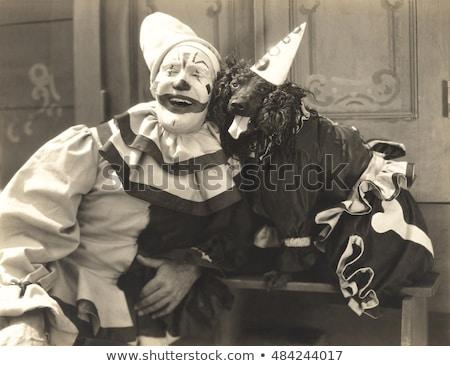 Clown Posing Stock photo © HASLOO