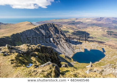 cadair idris mountain range in snowdonia Stock photo © chrisga