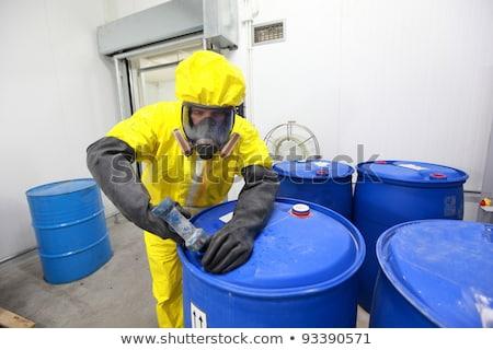 Vegyipar szemét víz szennyezés folyó ipari Stock fotó © ultrapro
