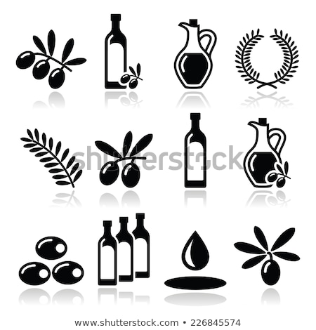 Olive oil flavored  stock photo © marimorena