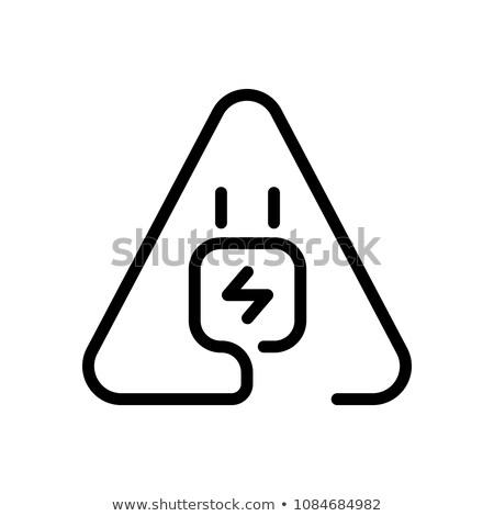 Usb assinar vermelho vetor botão ícone Foto stock © rizwanali3d