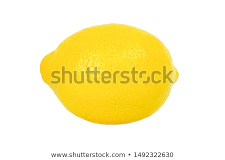 Single lemon isolated on white. Stock photo © lucielang