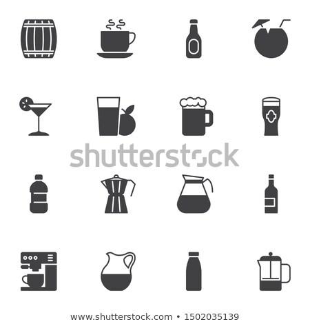 Mug and glass of water stock photo © polygraphus