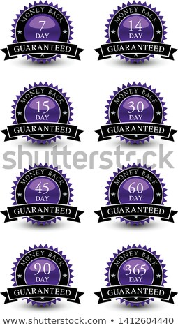Money Back Purple Vector Icon Design Stock photo © rizwanali3d