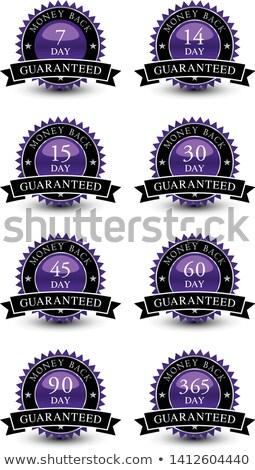 money back purple vector icon design stock photo © rizwanali3d