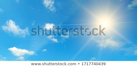 Fényes égbolt kép konzerv használt pinup Stock fotó © tatiana3337