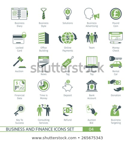 Business Set 04 Stock photo © Genestro