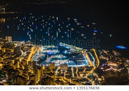 表示 モナコ 多くの 建物 市 海 ストックフォト © Ionia
