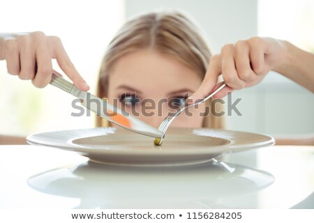 you are what you eat dieting concept obsessed with calories an stock photo © soupstock