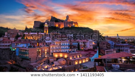 Houses in a old town Stock photo © imagedb