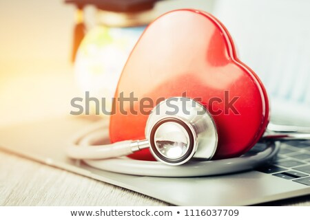 health is wealth medical concept with blurred background stock photo © tashatuvango