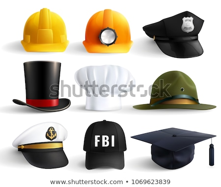 Vector Cowboy Concept with Hat Stock photo © dashadima