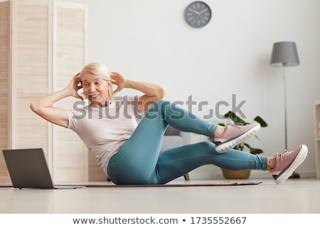 Senior woman in casual clothes. Stock photo © NeonShot