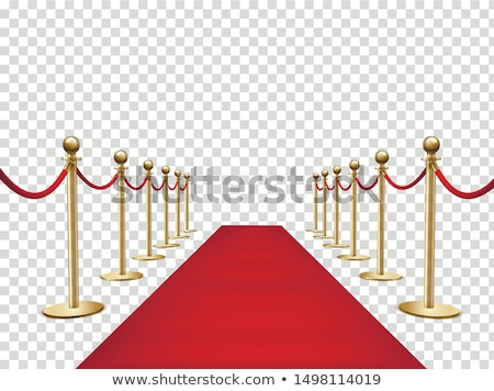 Celebrity on red carpet Stock photo © alphaspirit