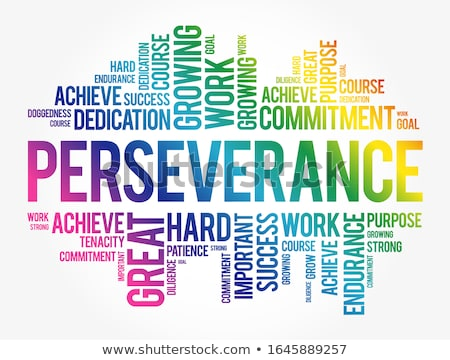 Perseverance Stock photo © Lightsource
