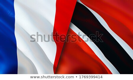 France and Trinidad and Tobago Flags Stock photo © Istanbul2009