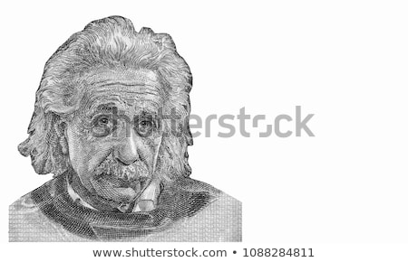 Albert Einstein Head Stock photo © ClipArtMascots