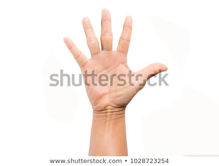 five fingers of a hand Stock photo © mayboro1964