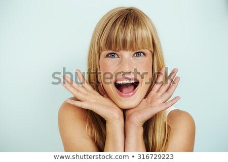 красивой · молодые · девушки · короткие · волосы - Сток-фото © konradbak